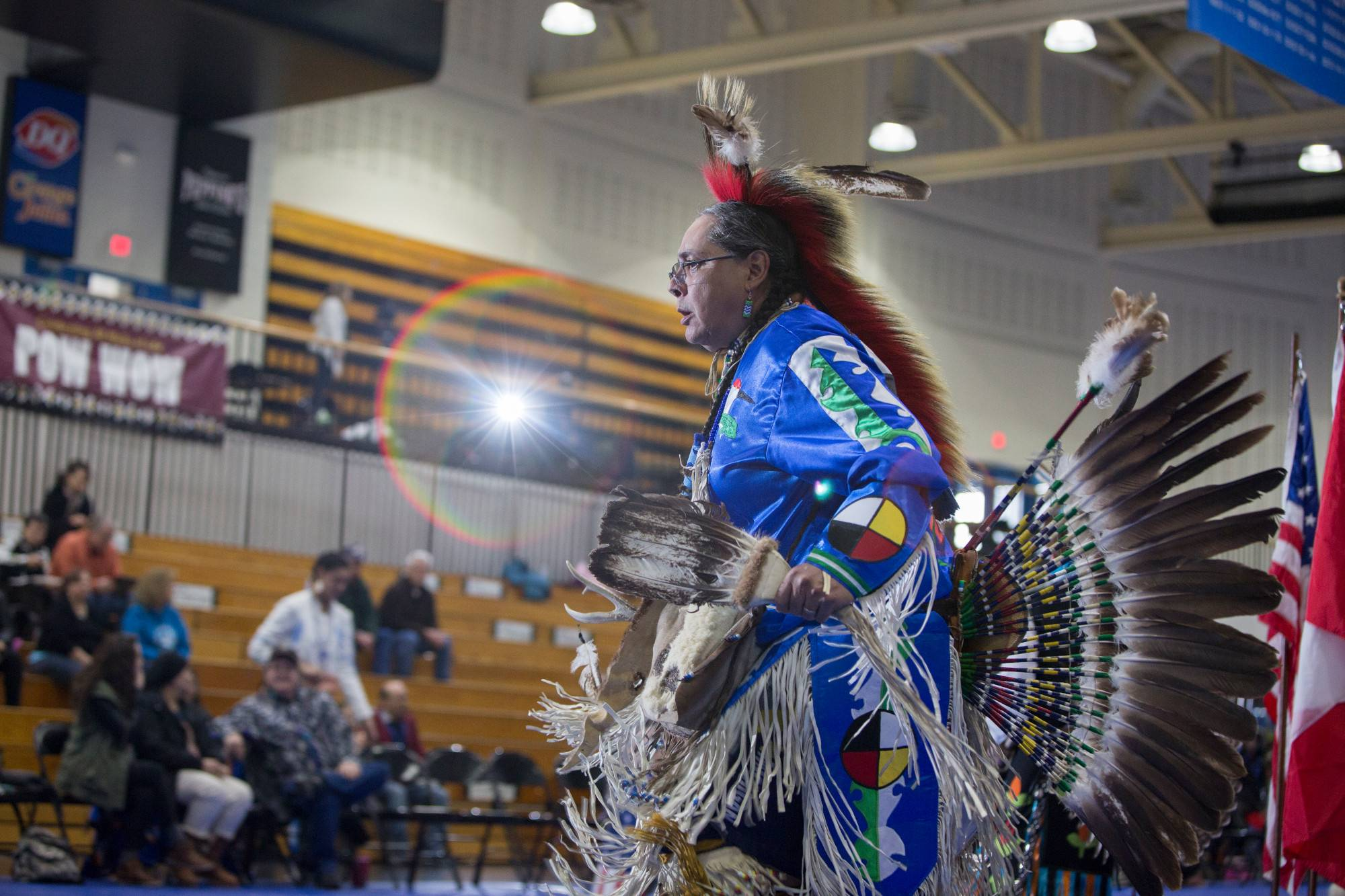 A Native American Pow Wow held by NAAC at GVSU.